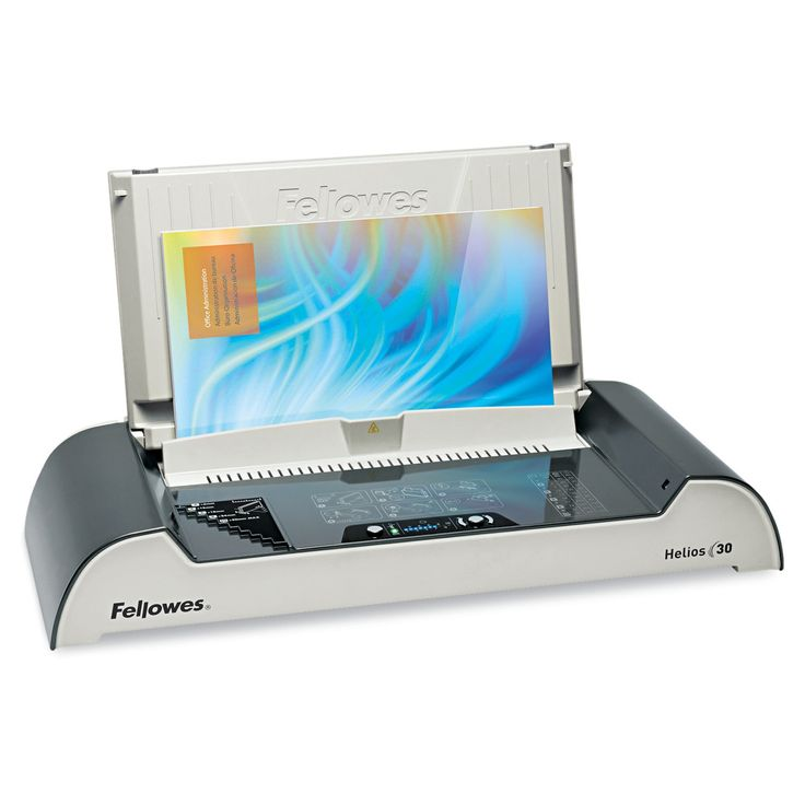 Fellowes Helios 30 Thermal Binding Machine 300 Sheets 20 7/8 x 9 7/16 x 3 15/16-inch high CC/SR