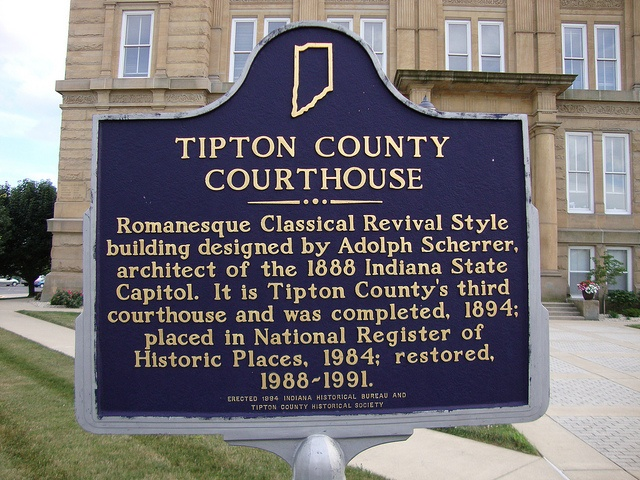 Courthouse Marker Tipton IN