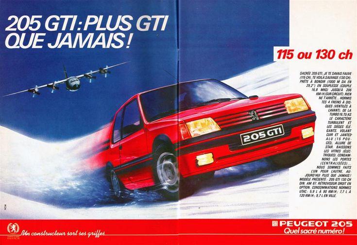Peugeot 205 GTI 1986
