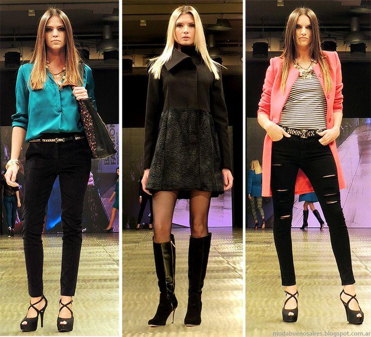 Moda y Tendencias en Buenos Aires : MODA URBANA Y FEMENINA OTOÑO INVIERNO 2014: DESFIL...