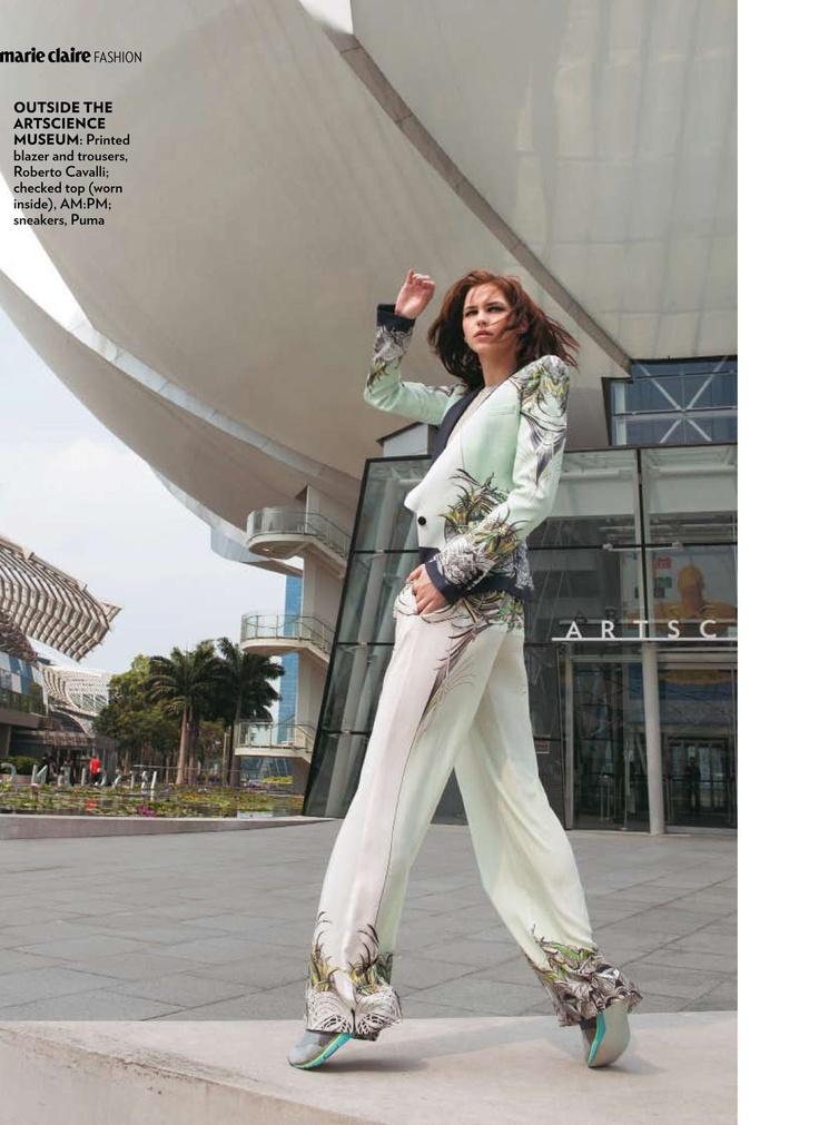 """Editorial Marie Claire India June 2013 """"Premium Rush"""" Feat Jacqueline S. By Porus Vimadalal"""