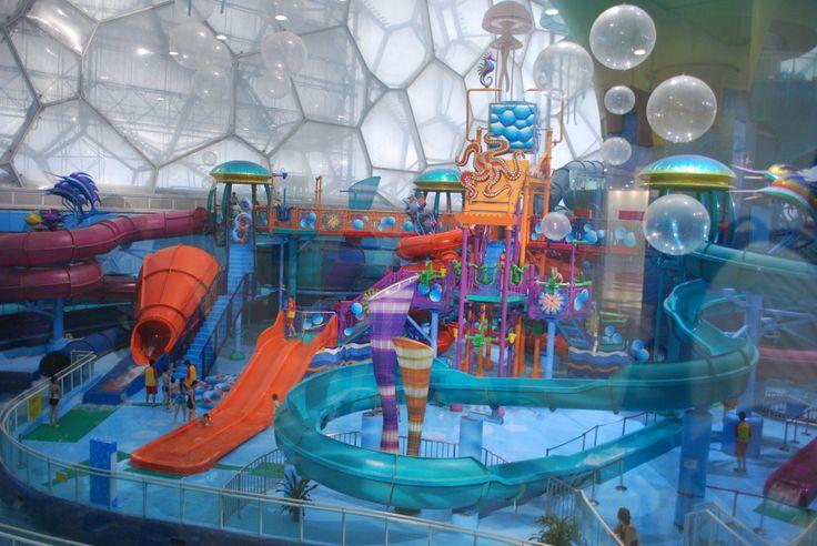 Beijing Water Park Pekin Parque Acuatico I Love Indoor Swimming Pools Aaaaahhh Just Great