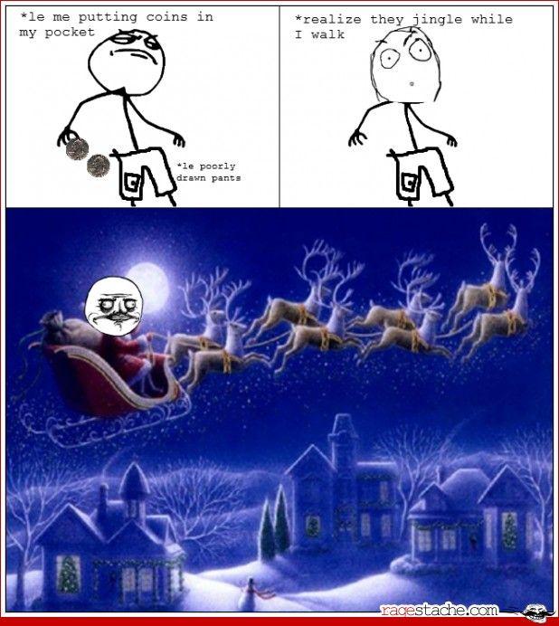 Jingle Jingle ... These faces make me snort