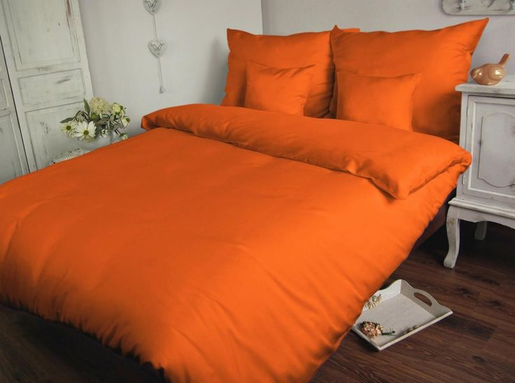 Holey Quilt obliečky Bavlna Deluxe  Oranžová 140x200, 70x90cm