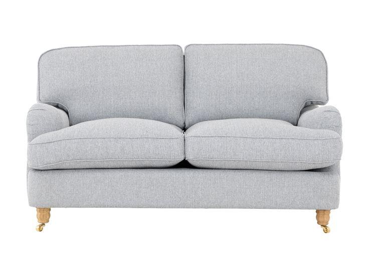 HOWARD DELUXE 2-sits Soffa Ljusgrå i gruppen Inomhus / Soffor / Howardsoffor hos Furniturebox (110-32-90300s)