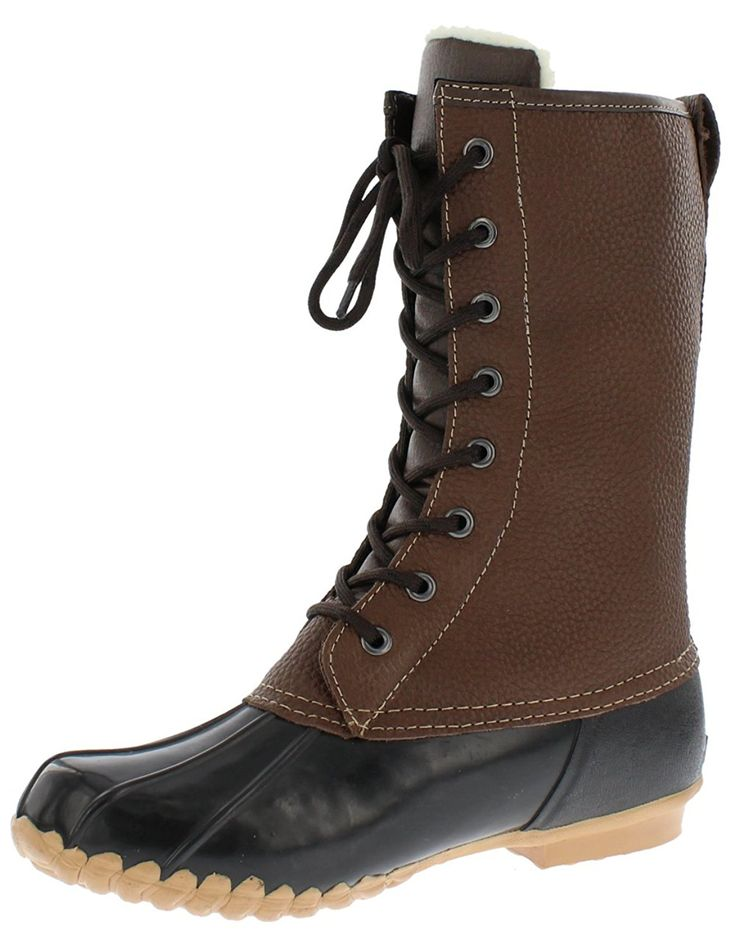 Sporto Womens Delmar Leather Duck Boot >>> Click on the