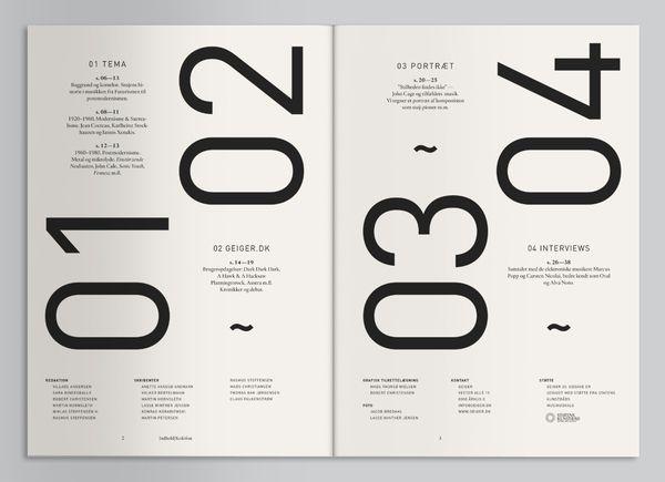 Geiger Magazine on the Behance Network — Designspiration