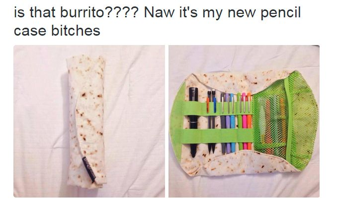 burrito pencil case - Google Search