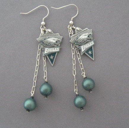 Philadelphia Eagles game day earrings