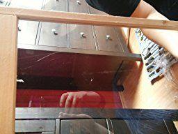 Songmics Hamsterkäfig holz XXL 115 x 60 x 58 cm mit klappbarem Deckel, Stöckchen zum Nagen, Futterschale PHC001: Amazon.de: Küche & Haushalt