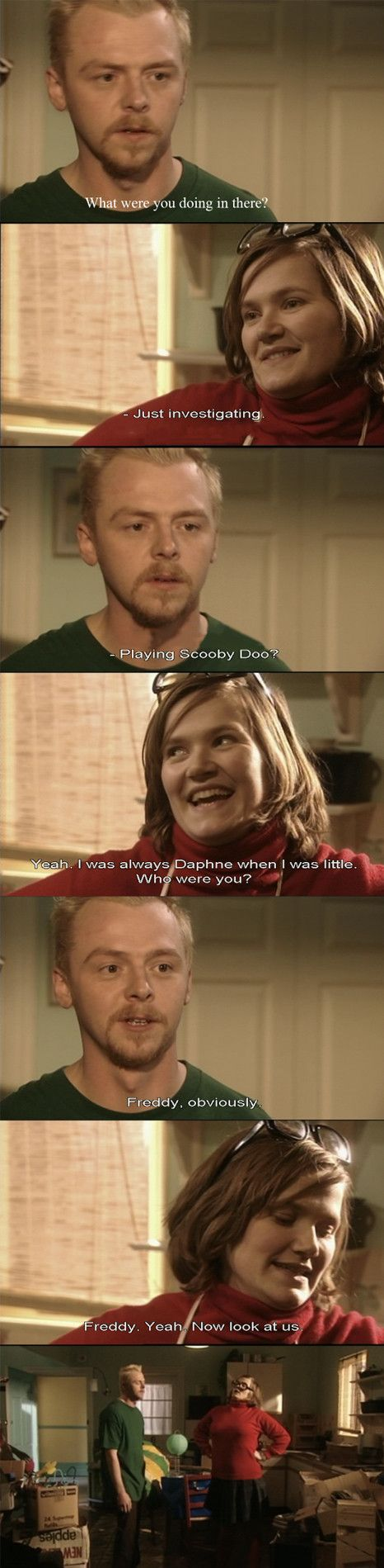 Spaced... hilarious!