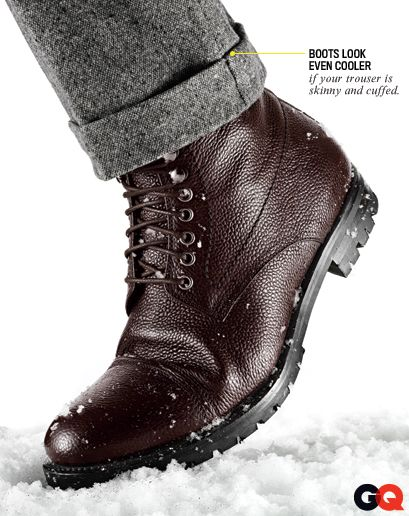 Lindberg boots are great. GQ offers an interesting wear detail. I ...