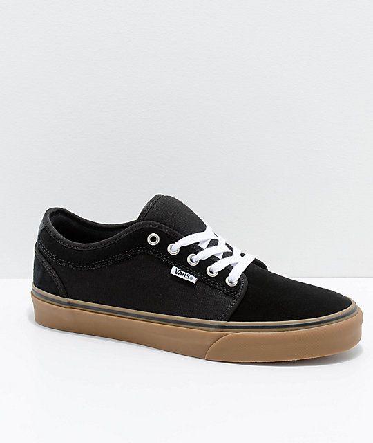 Vans Chukka Low Pro Black   Gum Skate Shoes  c13f9b24e