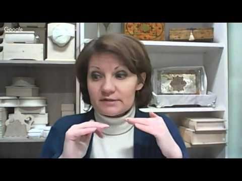 Зимние декупажные встречи. 6-й день конференции «Зимние декупажные встречи» Анна Стойчева