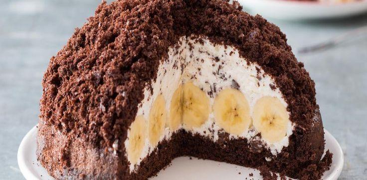 Krtkův dort - recept s moukou