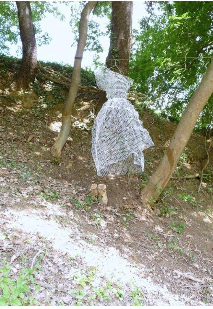 Kore  Scultura in mostra permanente parco museo Arte nel Chianti