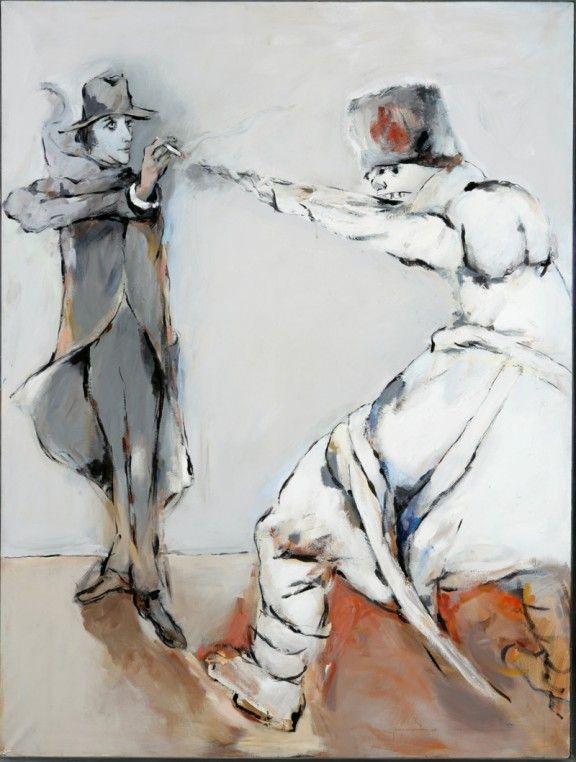 Tadeusz Kantor, Pewnego dnia żołdak napoleoński z obrazu Goi...(z cyklu Dalej już nic), 1988 r., z Kolekcji Grażyny Kulczyk