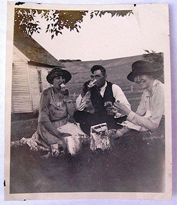 1920s picnic