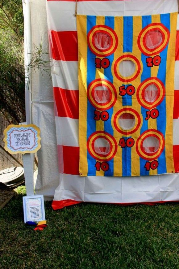 12 Fun Circus and Carnival Party Games | CatchMyParty.com