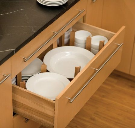 Easy ways to add storage to a small kitchen part 3 for Add drawers to kitchen cabinets