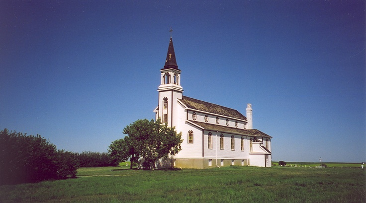 Ss. Peter and Paul's, Blumenfeld, Sk. Sheila's great grandparents (Hoffart) helped build this church in 1914