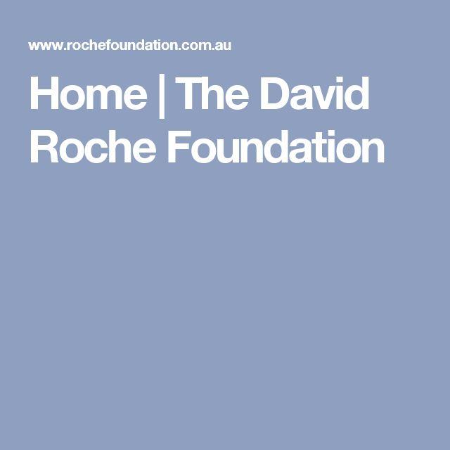 Home | The David Roche Foundation