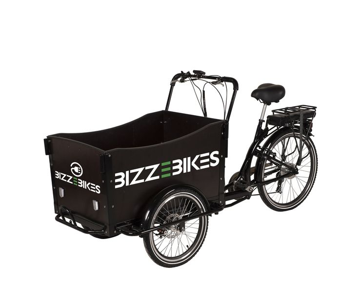 Electric Cargo Trike by BizzOnWheels