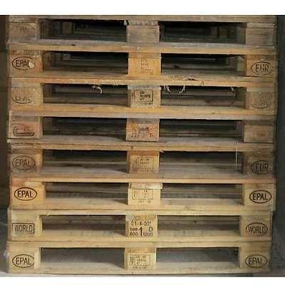 Europaletten Euro Paletten Gebraucht Sehr Guter Zustand Hell Ideal Für  Möbel In Business U0026 Industrie,
