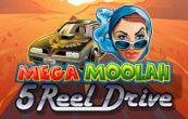 Mega Moola-5Reel Drive Progressive Slot Game