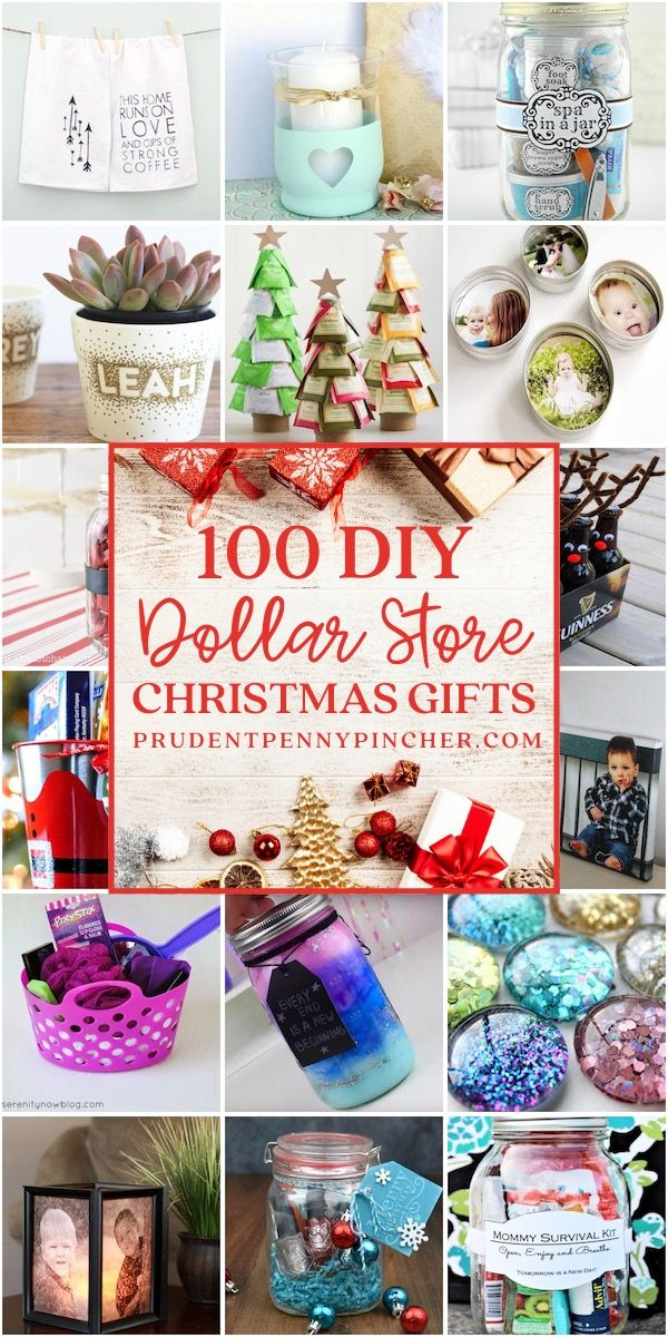 100 Dollar Store DIY Christmas Gifts