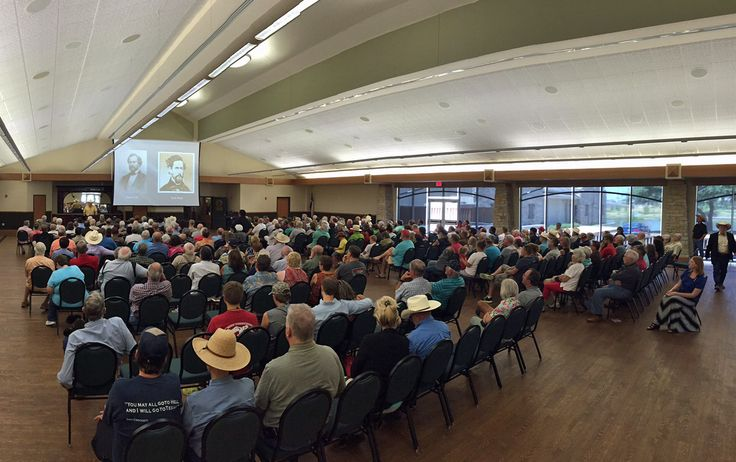 "On Saturday, August 1, the Texas Ranger Hall of Fame and Museum hosted ""Gunfighterology: Frontier Gunfighters and Shootouts,"" a presentation by Dr. Bill O'Neal, State Historian of Texas. There was more than 300 people in attendance."