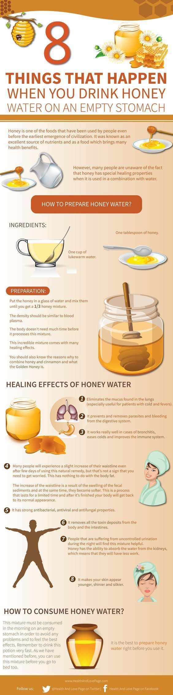 Would you like to know 8 things that happen when you drink honey water? You have probably heard some of the benefits of honey already and let's face it, honey sure is tasty  I would like to mention though, we're not talking about the cheap honey that you can get. It needs to be …