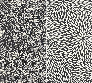 Elegant Black and White Pattern. Too bad the original source is gone.