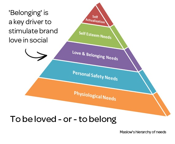 belonging is a basic human need Basic human needs - chapter 5 please  basic need for safety and  the needs for love affection and belonging are fundamental human needs however people must.