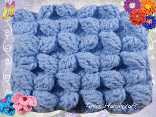 Tina's handicraft : crochet stitch  No35