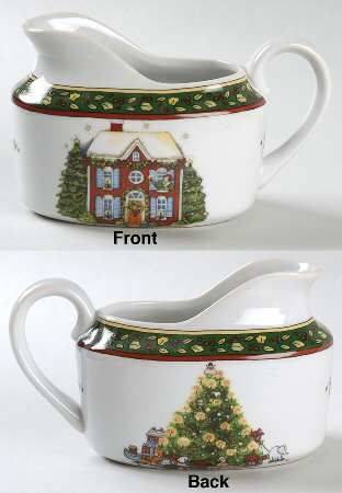 Creamer in the Christmas Story pattern by Portmeirion. Christmas DishesChristmas Starters : portmeirion christmas story dinnerware - pezcame.com