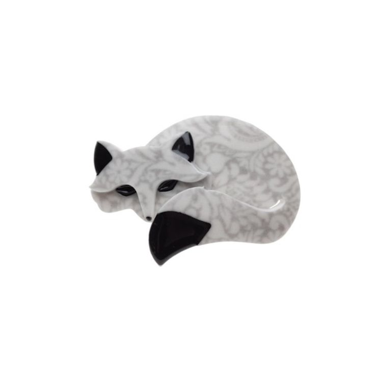 gorgeous fox Brooch by Erstwilder on coconette-oz