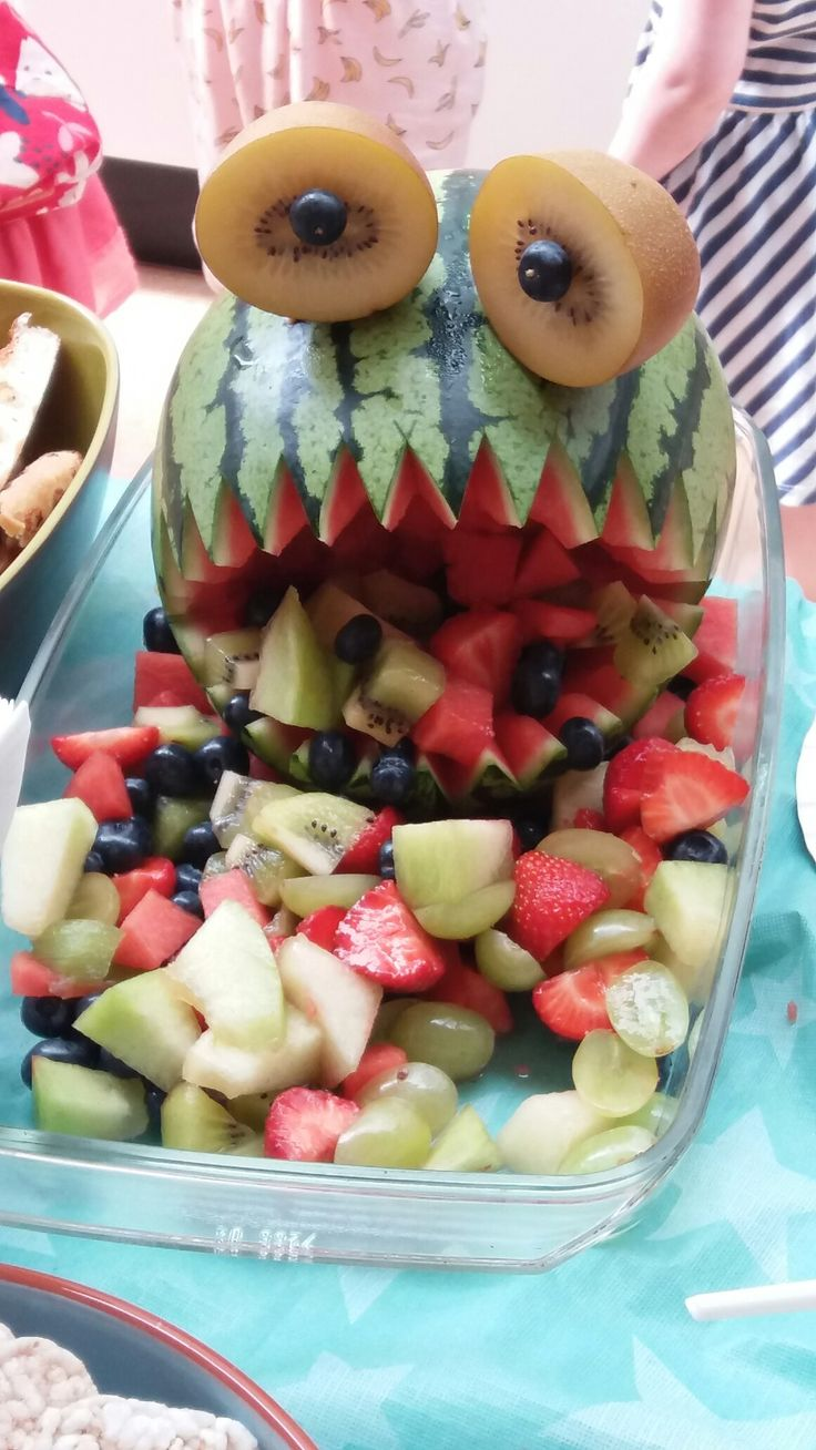 Watermeloen monster!!