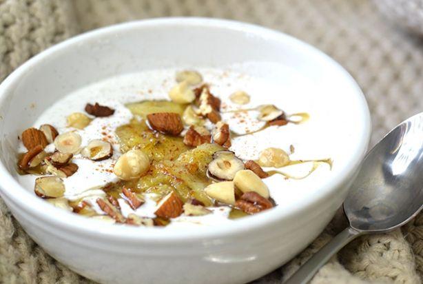 Video: Kokos'yoghurt' met gebakken banaan