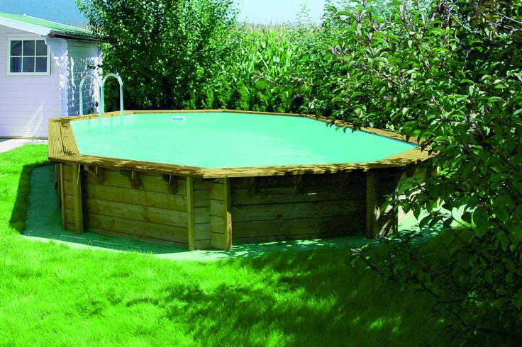 22 beste afbeeldingen over houten zwembaden wooden pools for Zwembad half inbouw