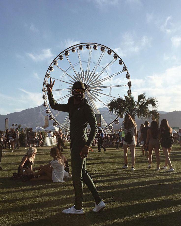 At Coachella - California,  Kish is wearing the Aviator Jumpsuit - day 2 ✌️✌️  #coachella #onepiecenorway #jumpsuit #California #happydays #sun #onesie #festival