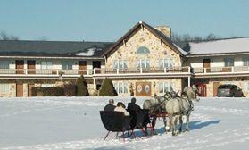 Guggisberg Swiss Inn - Amish Country Riding Stables, Charm Ohio, Berlin, Holmes County Horseback Riding in Ohio, Sleigh Rides, Horses, Quarterhorses