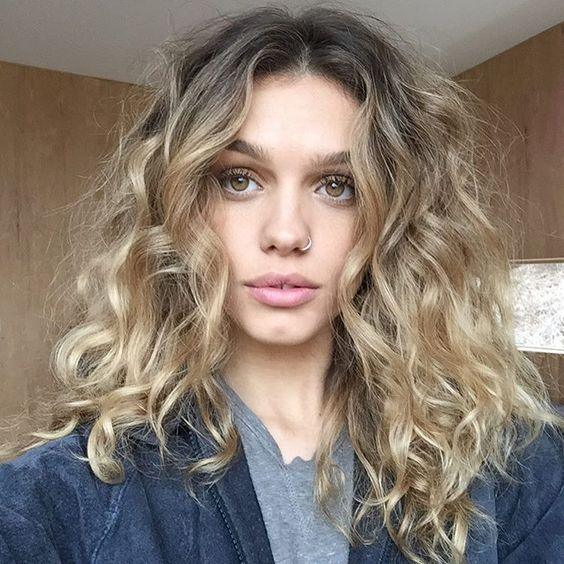 gorgeous long curly bob hairstyles