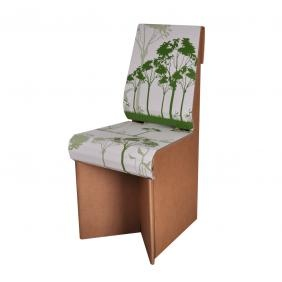 cardboard chair from mobilier orika