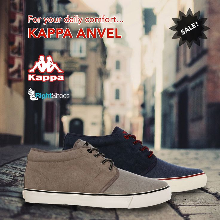 Kappa Anvel is available on Right Shoes! Scan your feet and discover your size!  http://ow.ly/ScNn302SkHh