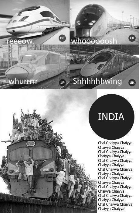 Desi Memes . Sound of Trains in India! #desi #asian #www.asianlol.com