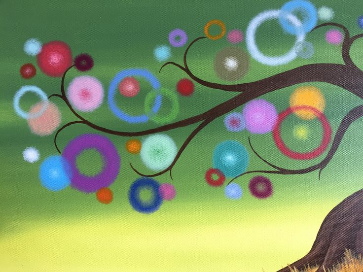 Evolution of my lollipop tree