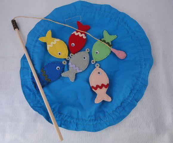 Pescaria em feltro