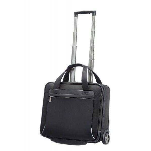 Business case with wheels 15.6'' black Samsonite Spectrolite. #Laptop #bag ideal for #business #trips. Cabin size.