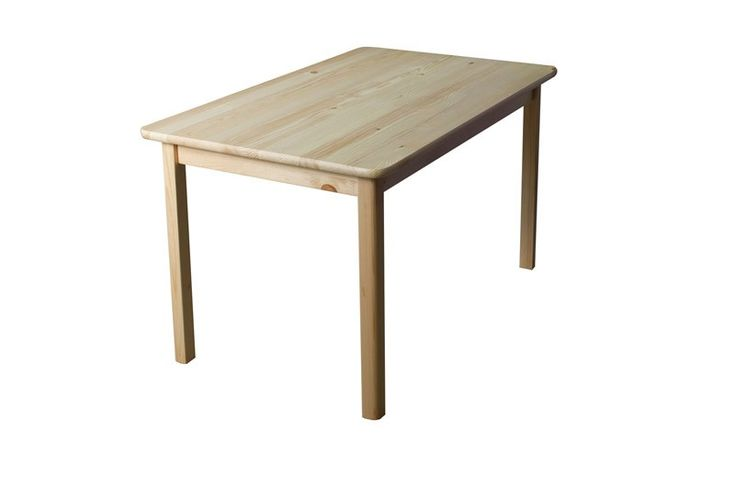 Esstisch Massivholz 001 (eckig) - Abmessung 75 x 120 x 60 cm (H x B x T), Steiner Shopping Möbel
